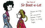 The Tale of Sir-Boast-a-Lot Wallpaper by maddixp381