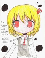 Old Rumia Picture is Old~ by FrozenFlyingKero