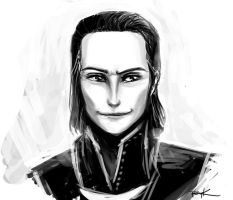 Norse God of Mischief and Chaos by PsychedelicMind