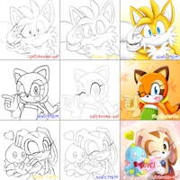 Switch Meme-Cute(?) Sonic Characters by Unichrome-uni