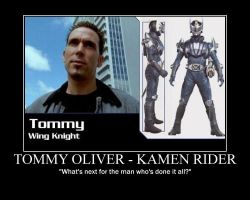 Kamen Rider Tommy by maybetoby