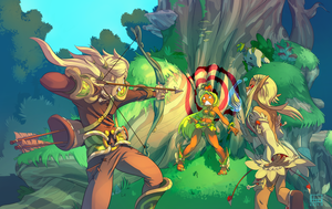 Another wakfu fanart by HideTheOrange