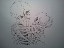 Feel you in my bones. by Maria200197