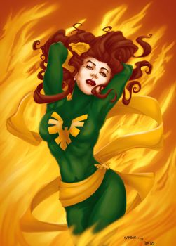 Jean Grey COMISION by LirBalam