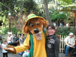 Me and Brer Fox at Disneyland by Technicolor-Visons