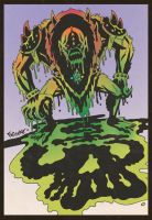 SLIME PIT BEAST MAN by ChrisFaccone