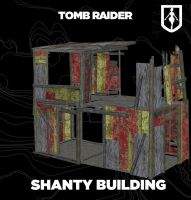 TOMB RAIDER:Shanty Building by doppelstuff