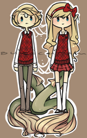 O C : [[ fishy twins ]] by Burscutum