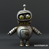Free mini Bender model by Kuzey3d