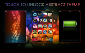 Abstract iPhone and iPod theme by iSugar