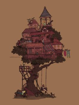 treehouse by Zae369