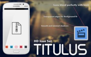 Titulus HD Icon Set by Devonix