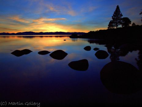 Lake Tahoe Sunset 2 by MartinGollery
