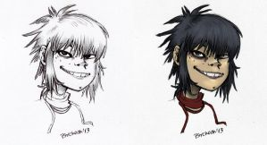 Phase 3 Noodle - colored - sketch- by Psychoon