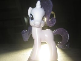MLP:FIM - Custom Scuplt Rarity by featherpen13