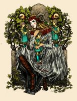 The Green Woman by Calcination