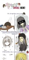 Double Meme with Yumi by AltairRia