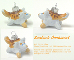 Sunback Ornament by tyreenya