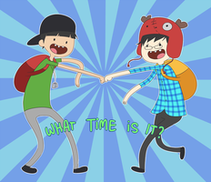 What time is it? by ichan-desu