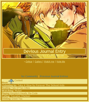 USUK 3 Journal Skin by Buono101
