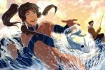 Korra and Bolin : Ice Fishing by Artipelago
