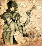 Hellsingnote LxLight crossover by unsolvedenigma