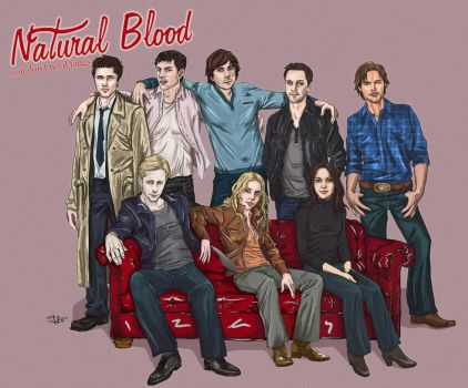 Natural Blood Characters by russianspy24