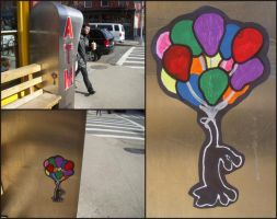 NYC Slap - Cat Tail Balloons by CizreK