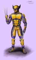 Wolverine Yellow costume movie costume by Chenks-R