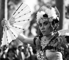 The Eye of Balinese Dancer by krisna4arms
