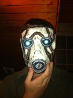 Psycho mask finished assembly by Mad78
