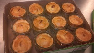 Miniature Mason Jar Pies by FutureChefHaku