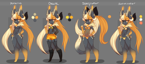 Art Slave . Lillith Clothing Reference by GEXi