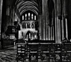 st. patrick's cathedral by Invi51bleAlice