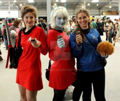 Star Trek Girls by ironPaD