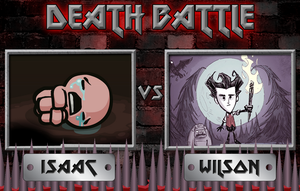 DeathBattle Isaac vs Wilson by Drayle88
