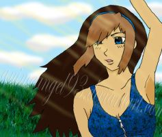 alexis grant: Wave by StrawberryPandii93