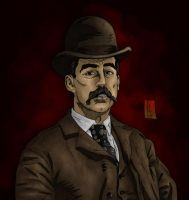 H.H. Holmes - Color by The-Real-NComics