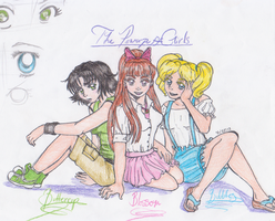 Powerpuff Teens by 4naruto-girl