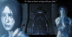 Cortana wallpaper by DarthxRevan
