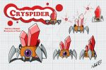 Cryspider by AdamRBi