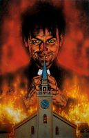 Preacher issue 1 cover by GlennFabry