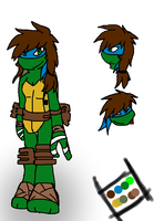.:TMNT:. Angie Reference + Bio by PurpleRings