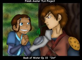 Jet colored finish ATLA Projec by Fallonkyra