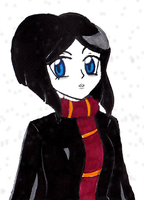 HP OC: Faustina Fortescue -simple marker coloring- by whiizu