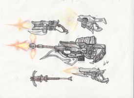 Halo - Brute Weapons 1 by ninboy01