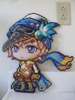 MapleStory: Perler Bead Phantom by heatbish