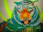 Glowing Tiger by PixieCold