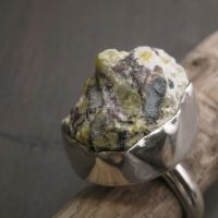 Icelandic moss hill ring by Jealousydesign