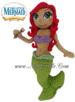 Ariel ~ The Little Mermaid ~ Crochet Doll by MissyBaque